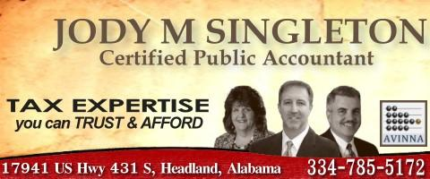 Jody M. Singleton, CPA - Accounting | Taxes | Payroll | Financial Consulting